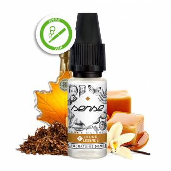 E liquide naturel blond légende Phode Sense végétale Toulouse cigarette électronique