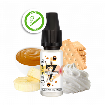 E liquide naturel banane chantilly biscuits Phode cigarette électronique Toulouse Albi