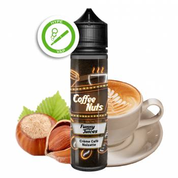 Coffee Nuts 50ml 00mg/ml...