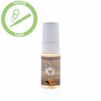 Arôme tabac caramel vanille e liquide cigarette électronique