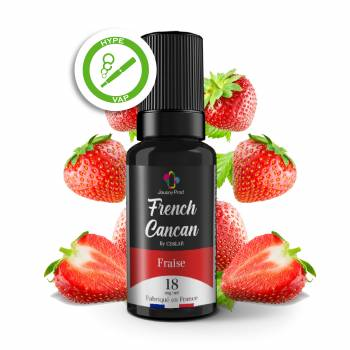 Fraise 10ml French Cancan