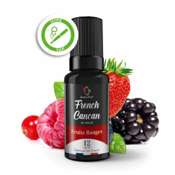 Fruits rouges 10ml French...