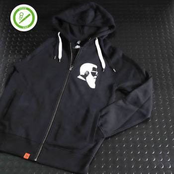 Sweat Zippé Capuche Big Papa