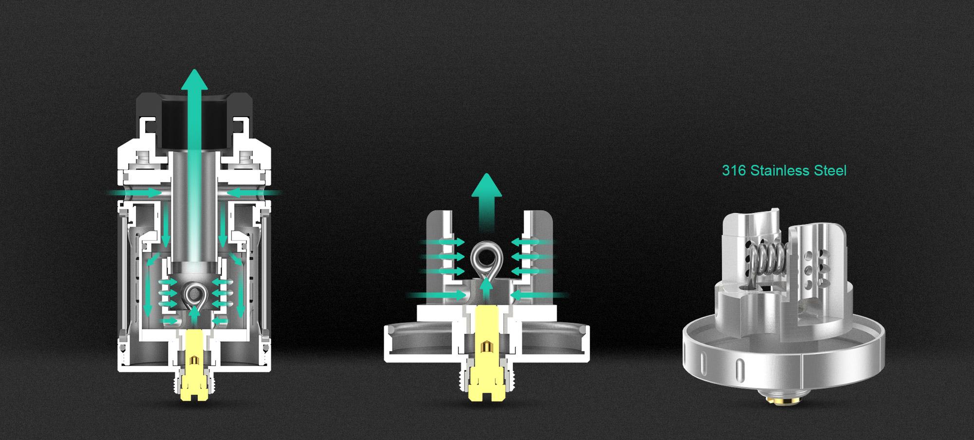 plateau montage coil zeus rta geekvape toulouse
