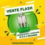 𝔹𝔸𝕊𝕋𝔸ℝ𝔻 𝔽𝕃𝔸𝕊ℍ !   Demain et dimanche profitez d'un tarif exceptionnel pour le meilleur atomiseur de l'année !! @animodz   Disponible sur notre site https://hypevap.shop/fr/animodz/810-bastard-rta-par-animodz.html  #animodz #instavape #vapfrance #cigaretteelectronique #vapstagram #toulousemaville #vapenation #ecig #vapefree #frenchvapers